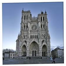 Amiens Cathedral Floor Plan Gothic Architecture Example Mindmeister
