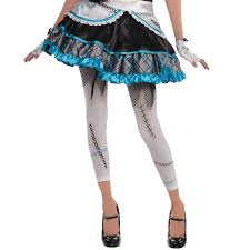 teen girls shattered doll halloween costume broken bell zombie