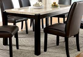 Marble Dining Tables Amazoncom - Marble dining room furniture