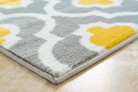 Yellow And Gray Rugs Yellow Moroccan Rug Trellis Patchwork Carpet Discount Area