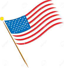Us Flag Vector Free Download American Flag Clipart American Star Pencil And In Color American