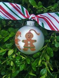 personalized bff gingerbread ornament