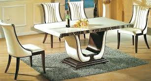 white marble dining table set 20 luxurious rectangular marble dining tables home design lover