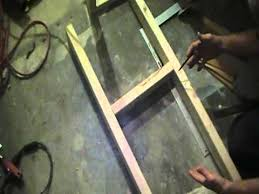 How To Build A Wall In A Basement by How To Build A Wall In The Basement Of Your House Youtube