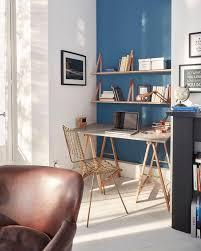 coin bureau dans salon aménagement recoin espace perdu toutes nos idées déco côté maison