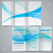 free tri fold business brochure templates tri fold business brochure template vector blue design flyer