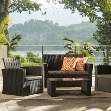 patio table with 4 chairs patio furniture you ll love wayfair