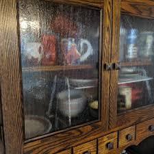 rustic glass kitchen cabinets custom textured glass