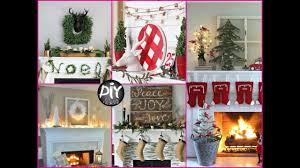 50 diy cute christmas mantel decorating ideas youtube