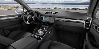 Porsche Cayenne Interior - 2019 porsche cayenne first drive review motor trend