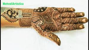 traditional design beautiful easy simple traditional mehndi designs for hands wedding