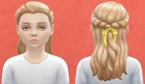 childs hairstyles sims 4 or child hair base game compatible at pickypikachu sims 4 updates