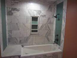 furniture home basement bathroom shower with glass door interior