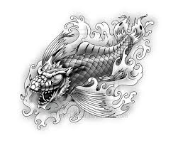 pictures of koi dragon tattoos all about tattoo