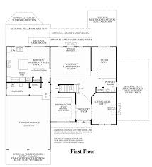 Center Hall Colonial Floor Plans Laurel Ridge The Glen The Ellsworth Ii Home Design
