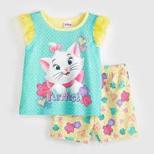 disney aristocats marie infant u0026 toddler u0027s pajamas