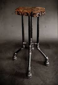 Steampunk Bar Stools 395 Best Black Iron Pipe Furniture Images On Pinterest Home Diy