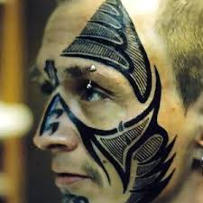 25 incredible face tattoo designs