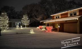 christmas light service chicago holiday lighting northern seasonal glenview il
