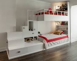 Bunk Bed With Stairs And Drawers A Custom Designed Bunk Bed With Built In Stairs And Storage