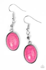 pink earrings earrings paparazzi accessories jewelry