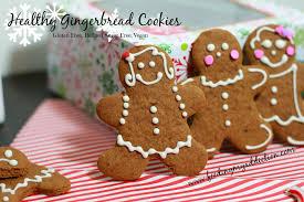 feeding my addiction healthy gingerbread cookies