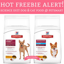 free bag of science diet dog and cat food petsmart deal
