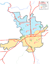 Rockford Zip Code Map by Fire Stations City Of Spokane Washington