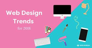 web bureau web design trends 2018 web bureau