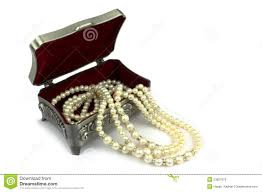pearl necklace jewelry box images Pearl necklaces jewelry box stock photo image of whitish colour jpg