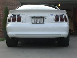 96 98 mustang tail lights i need opinions should i do 96 98 tail lights ford mustang