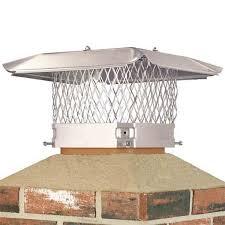 11 u0027 u0027 x 11 u0027 u0027 stainless steel single flue chimney cap northline