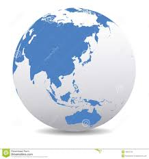 World Map Japan by China Japan Malaysia Thailand Indonesia Global World Stock