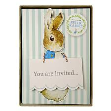 meri meri rabbit rabbit boxed invites