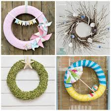 summer wreath diy summer wreaths 20 beautiful statement wreaths for summer
