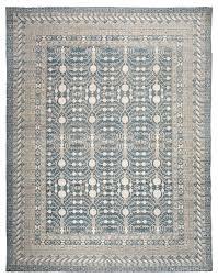 Neutral Persian Rug Blue Handmade Silk Persian Carpet Iranian Silk Carpets Factory