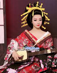 japanese hair ornaments traditional japanese geisha kimono costumes and hair accessories