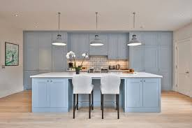 light blue kitchen cabinets uk blue paint colors to use in your kitchen for a chic upgrade