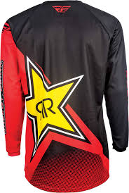 rockstar motocross gear 2017 fly racing kinetic rockstar jersey mx atv motocross off