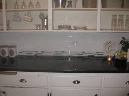 special interior glass tile backsplash applying together with