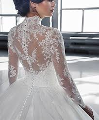 wedding dress high save on high neck lace tulle sleeves gown sweep