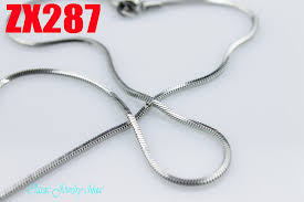 chain necklace snake images Stainless steel necklace 1 5mm square snake chain fashion men 39 s jpg