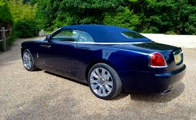 rolls royce light blue rolls royce dawn uk review with video