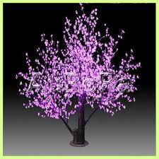 decorative lighted trees and flowers led tree light