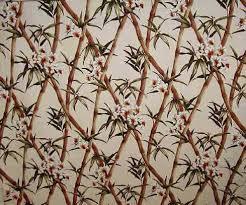 Upholstery Fabric Hawaii Ohe Barkcloth Hawaii Fabrics Vintage Style Hawaiian Fabric