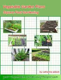 layout for small vegetable garden using the square foot system