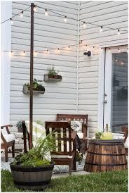 backyards terrific hanging lights in backyard backyard ideas