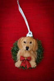 Christmas Ornaments Dogs 16 Best Needle Felted Pet Christmas Ornaments Images On Pinterest