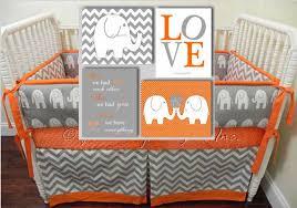 Elephant Bedding For Cribs Baby Bedding Nursery Bedding Dcor Modern Colorful Home Decor