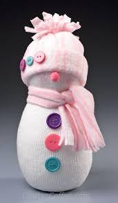 the cutest sock snowman easy diy on craftsncoffee snowmen